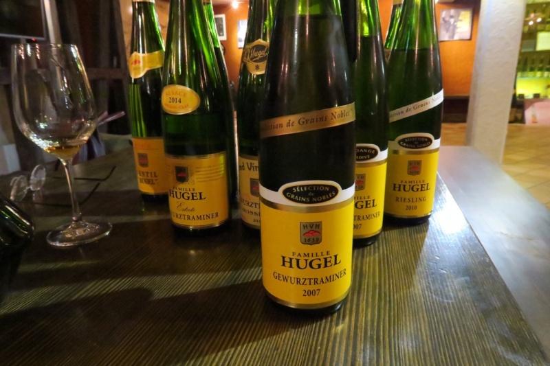 tasting at Hugel