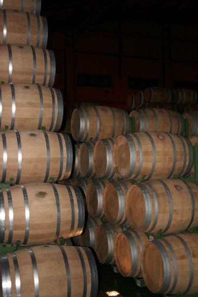Barrel hall at LAN