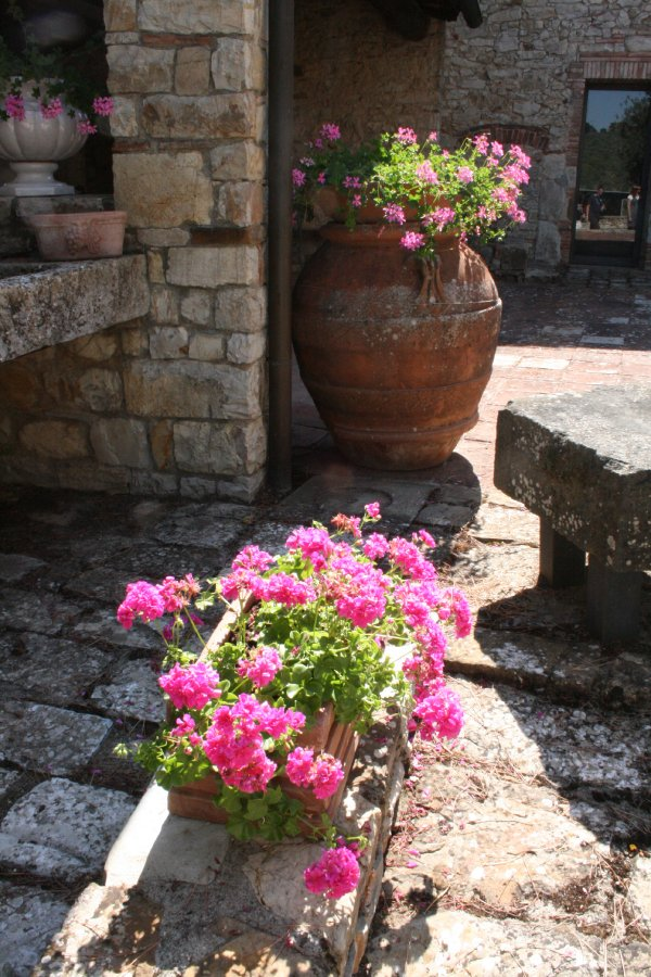 courtyard at Ama