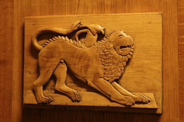 emblem on botte