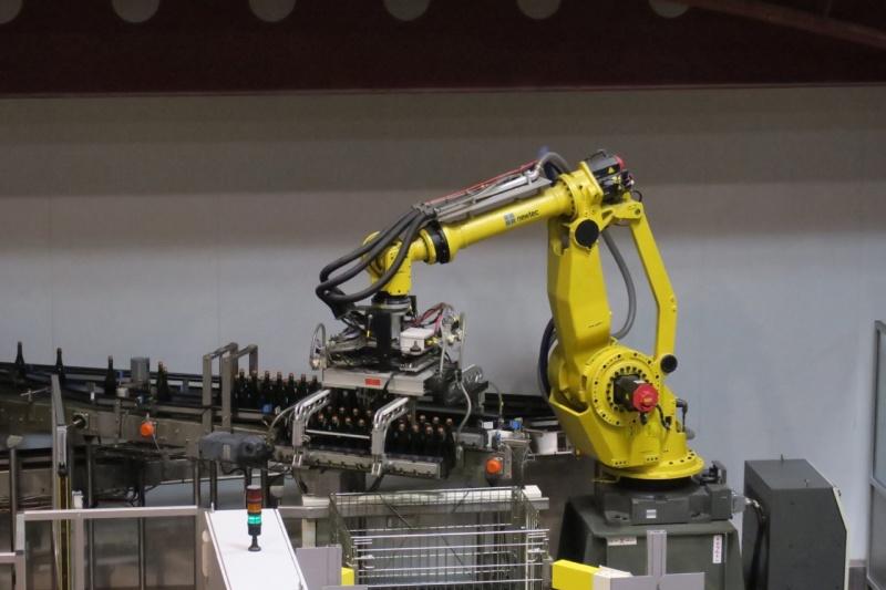 full automation at Veuve Ambal