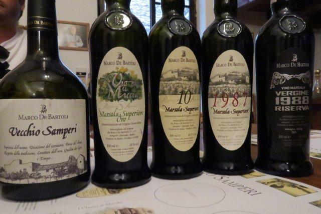 de Bartoli bottles