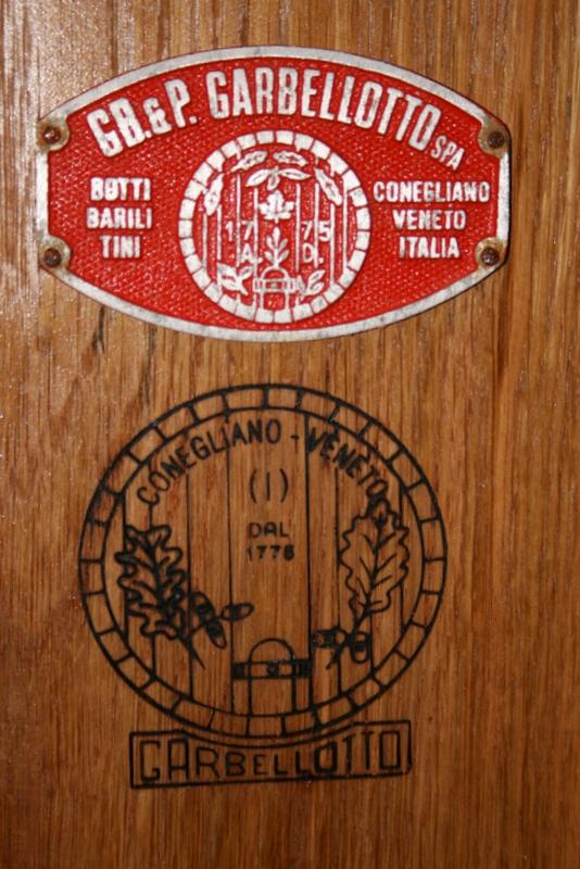 Italian barrel maker
