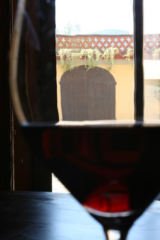 Rufina in the glass