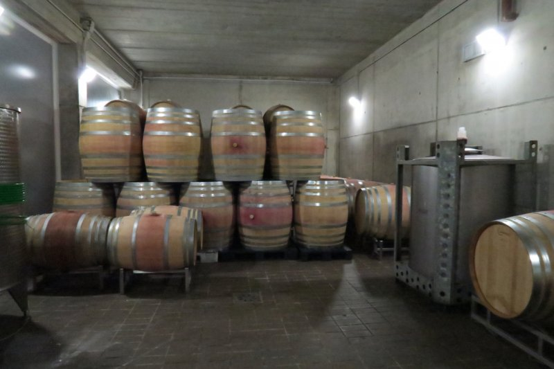 La Selva barrel hall