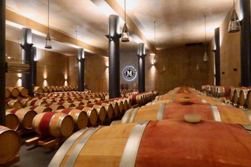 Monteverro barrel hall