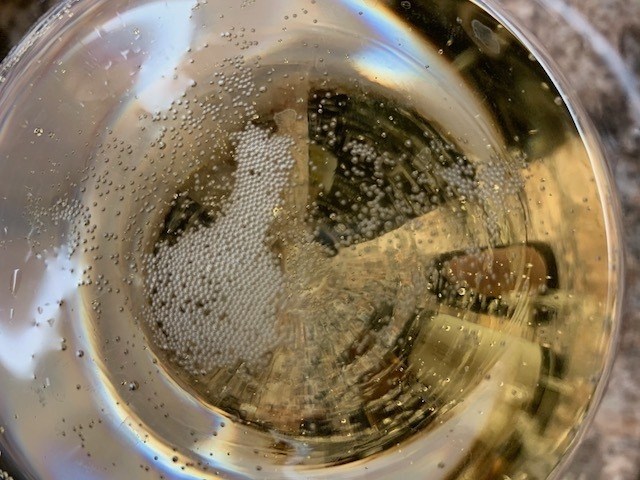 Traditional method sparkling wine
