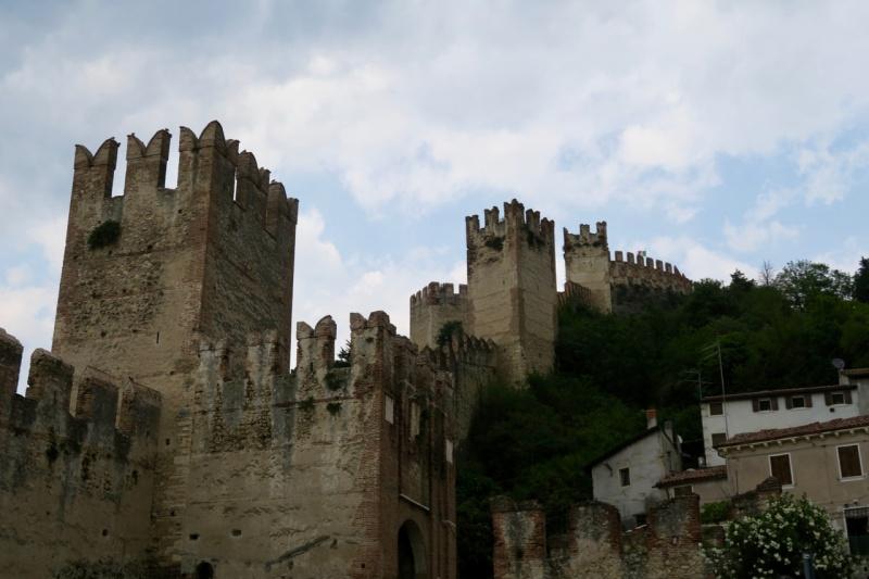 Soave town walls