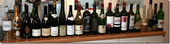 one evening's tasting